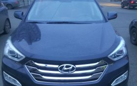 Hyundai Santa Fe 2013 (После)