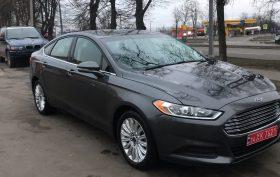 Ford Fusion Hybrid 2016 (После)